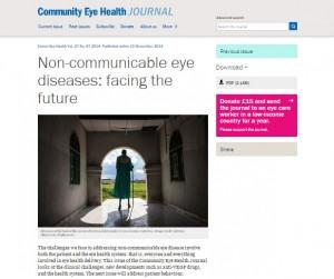 Community Eye Health Journal Issue 87