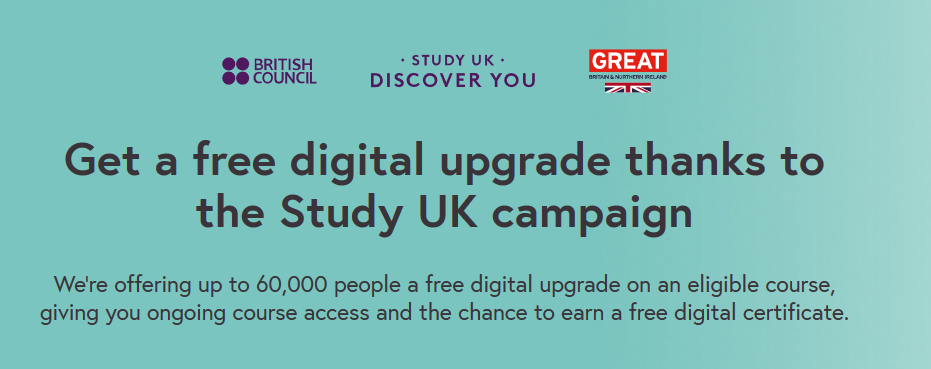 British Council Free Upgrades